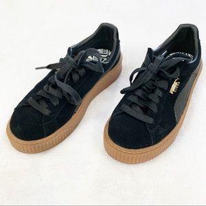 Puma Platform Suede Sneakers ❣️